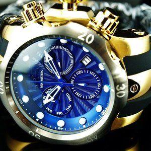 SALE! 52mm Swiss Blue Venom Watch w/ box!